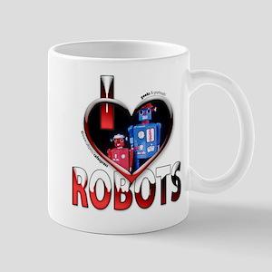 I Love Robots! Mug