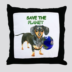 The Planet Throw Pillow