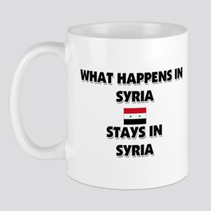 What Happens In SYRIA Stays There Mug