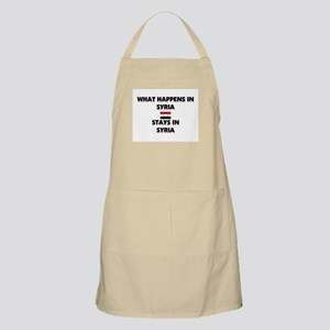 What Happens In SYRIA Stays There BBQ Apron