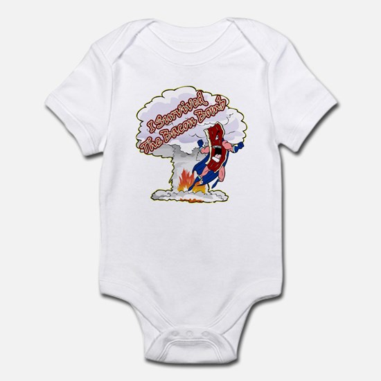 Survived Bacon Bomb Infant Bodysuit