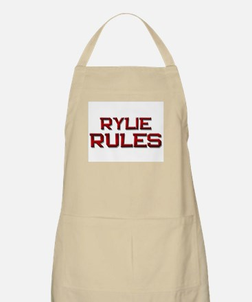 rylie rules BBQ Apron