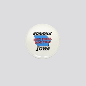 norwalk iowa - been there, done that Mini Button