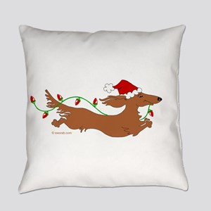 XMAS L RED(05) Everyday Pillow