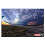 Loami Supercell Large Poster