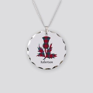 Thistle-Robertson Necklace Circle Charm