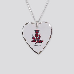 Thistle-Robertson Necklace Heart Charm