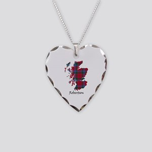 Map-Robertson Necklace Heart Charm