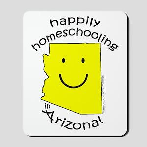 Happy in AZ Mousepad