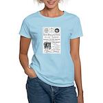 B&O Royal Blue LineTrains Women's Light T-Shirt