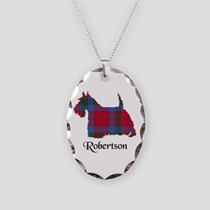 Terrier-Robertson Necklace Oval Charm