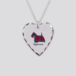 Terrier-Robertson Necklace Heart Charm