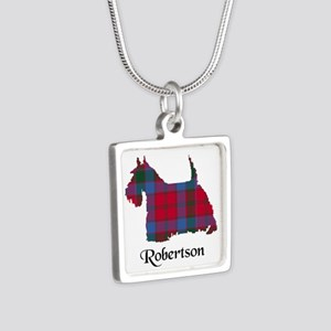 Terrier-Robertson Silver Square Necklace