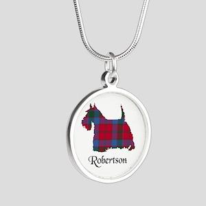 Terrier-Robertson Silver Round Necklace