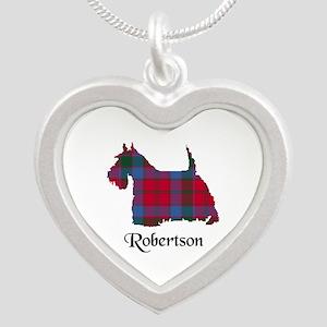 Terrier-Robertson Silver Heart Necklace