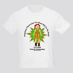 Just Too Much ME Redhead Girl Green T-Shirt