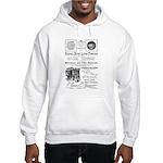B&O Royal Blue LineTrains Hooded Sweatshirt