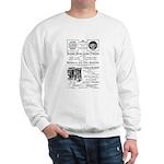 B&O Royal Blue LineTrains Sweatshirt