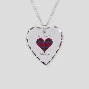 Heart-Robertson Necklace Heart Charm