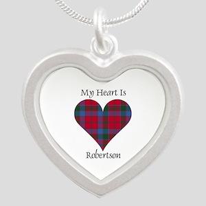 Heart-Robertson Silver Heart Necklace