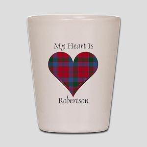 Heart-Robertson Shot Glass