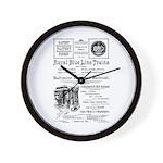 B&O Royal Blue LineTrains Wall Clock
