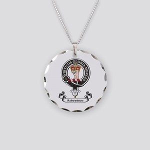 Badge-Robertson Necklace Circle Charm