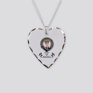 Badge-Robertson Necklace Heart Charm