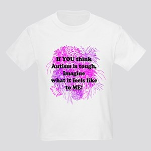If You Think Autism Is Tough Pink Purple T-Shirt