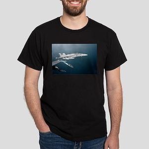 FA 18 Hornet Black T-Shirt