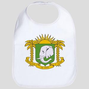 Cote Divoire Coat of Arms Bib