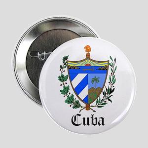 "Cuban Coat of Arms Seal 2.25"" Button"