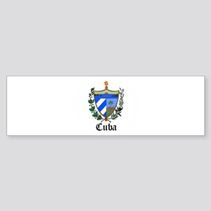 Cuban Coat of Arms Seal Bumper Sticker