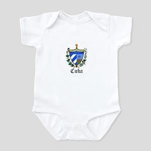 Cuban Coat of Arms Seal Infant Bodysuit