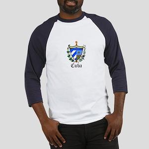 Cuban Coat of Arms Seal Baseball Jersey
