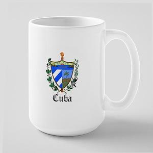 Cuban Coat of Arms Seal Large Mug