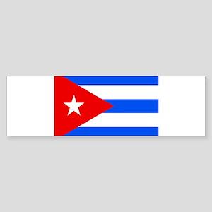 Cuba Flag Bumper Sticker