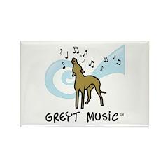 Greyt Music Rectangle Magnet
