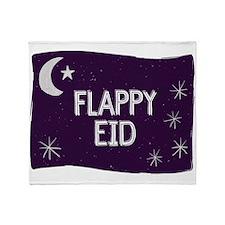 Flappy Eid Throw Blanket