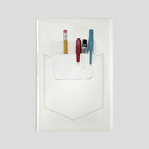 Pocket Protector Rectangle Magnet