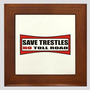 SAVE TRESTLES! Framed Tile