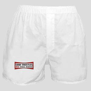 SAVE TRESTLES! Boxer Shorts