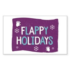 Flappy Holidays Sticker
