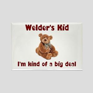 Welder's Kids Rectangle Magnet (10 pack)