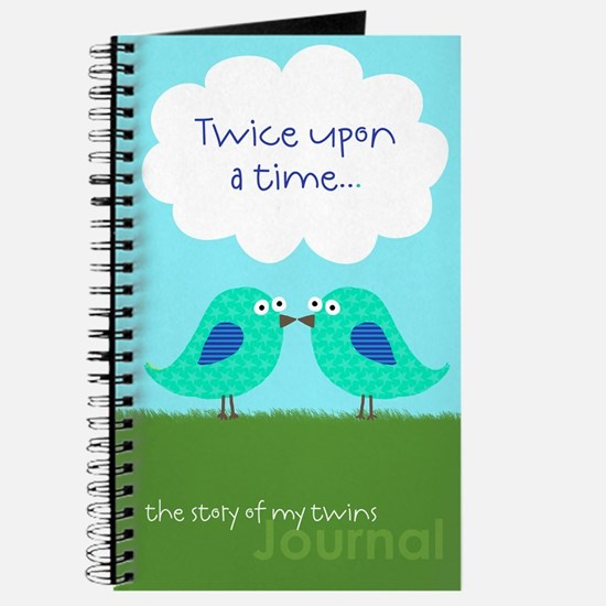 Twice upon a time Journal for Twin Boys