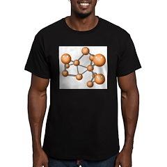 Social Network Men's Fitted T-Shirt (dark)
