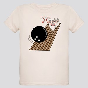 Bowling Lane Organic Kids T-Shirt