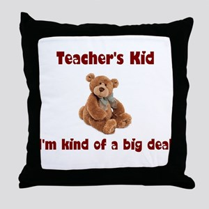 School Teacher Throw Pillow