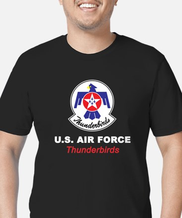 United States Air Forc Men's Fitted T-Shirt (dark)