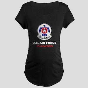United States Air Force Thu Maternity Dark T-Shirt